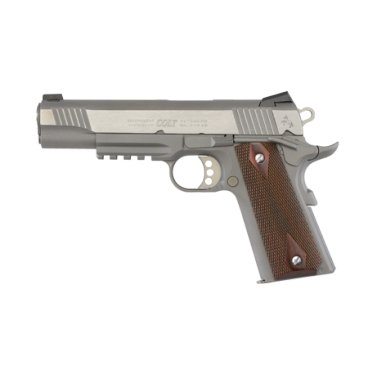 "Pistole sam. Colt, Model: 1911 Government, Ráže: .45 ACP, hl.: 5"", rail, nerez"