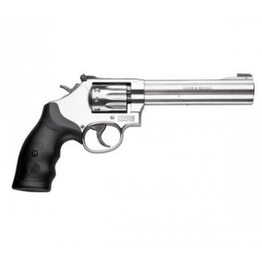 "Revolver Smith & Wesson,Model: 617-5, Ráže: .22 LR, 6 ran, hl. 6"",  nerez"