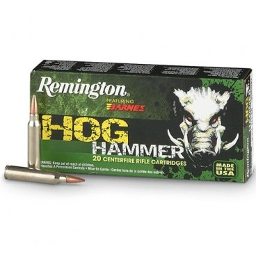 Náboj kulový Remington, Hog Hammer, .300 AAC Blackout, 130GR, Barnes TSX