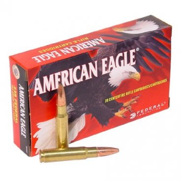 Náboj kulový Federal, American Eagle, .338 Federal, 185GR, Soft Point