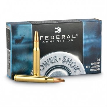 Náboj kulový Federal, Power Shok, .30-06 Sprg., 150GR, Soft Point
