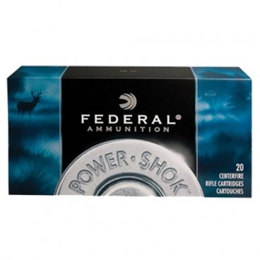 Náboj kulový Federal, Power Shok, .375 HaH Mag, 300GR, Soft Point