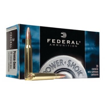 Náboj kulový Federal, Power Shok, .338 Federal, 200GR, Soft Point